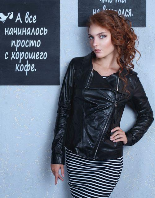 bda06380fdf Какие женские кожаные куртки популярны в сезоне осень 2019  Интернет ...