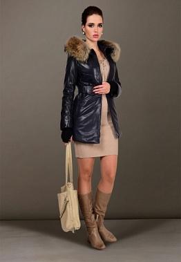 6ca8ff308fe Купить кожаную куртку с мехом по цене производителя в городе ...